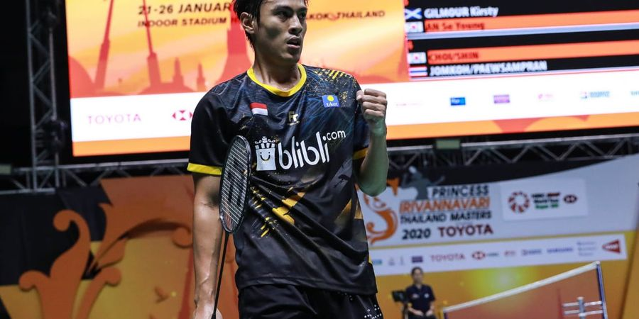 Rekap Hasil Thailand Masters 2020 - Shesar Hiren Lolos, Indonesia Pastikan 1 Tiket Semifinal