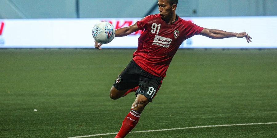 M Rahmat Pilih Nomor Punggung 91 di Bali United, Ini Alasannya