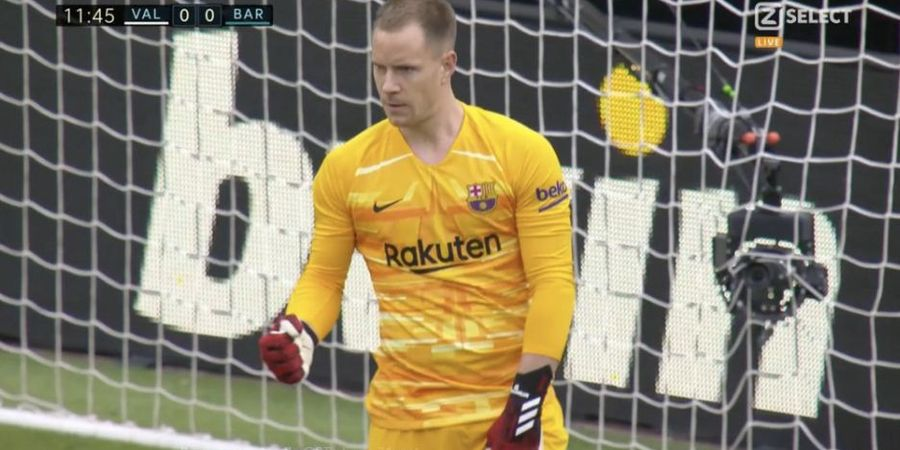 Real Madrid Vs Barcelona - Ter Stegen dan Kesempurnaannya di Bernabeu
