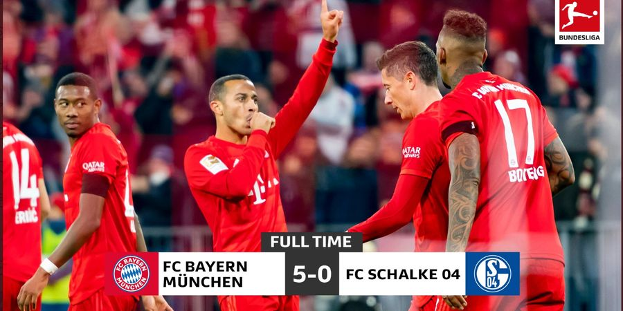 Hasil Bundesliga - Muenchen Menang, RB Leipzig Kalah, Papan Atas Rapat