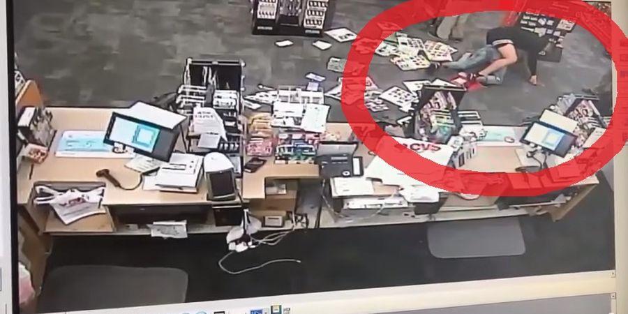 Bak Pahlawan! Bocah ini Ringkus Penjahat dengan Teknik Kuncian Dahsyat