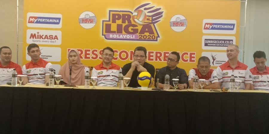 Tim Jakarta Pertamina Energi Antisipasi Seri II Proliga di Purwokerto