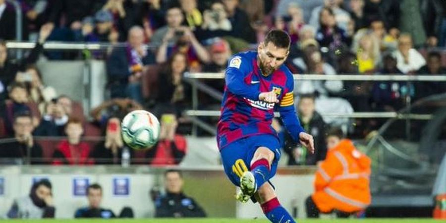 VIDEO - Skill Tingkat Dewa, Assist Nutmeg Messi untuk Griezmann