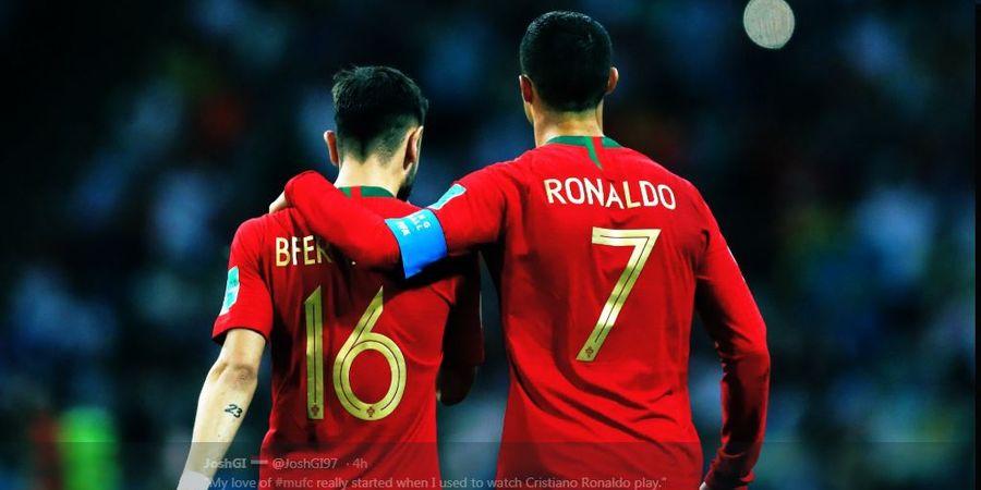 Bruno Fernandes Ungkap 3 Hal yang Diajarkan Cristiano Ronaldo