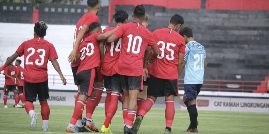 Pemain Bali United Kena Apes saat Latihan Jelang Piala AFC 2020