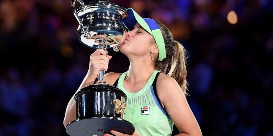 Final Australian Open 2020 - Bekuk Murguruza, Kenin Raih Titel Grand Slam Pertama