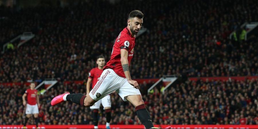 Hasil Liga Inggris - Fernandes Debut, Man United Cuma Raih Hasil Imbang