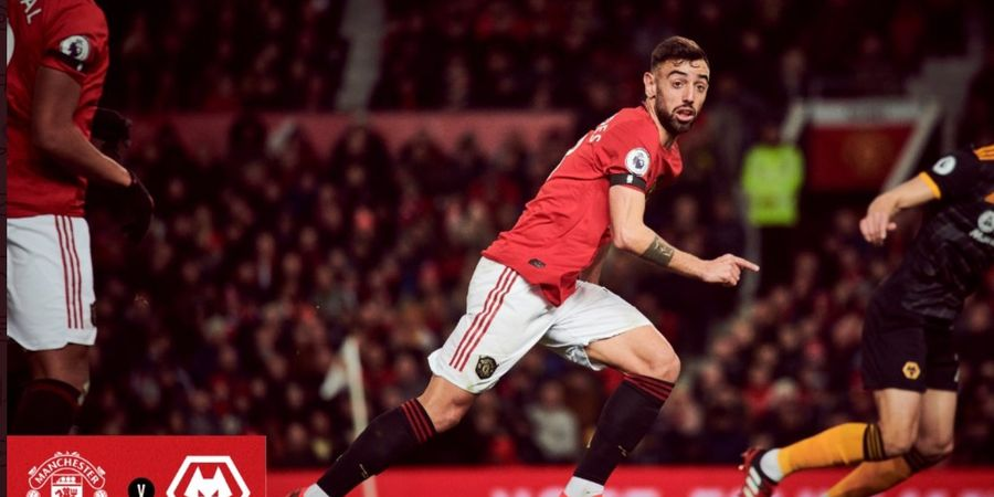 Highlight Manchester United vs Wolves - Debut Bruno Fernandes Tak Sempurna