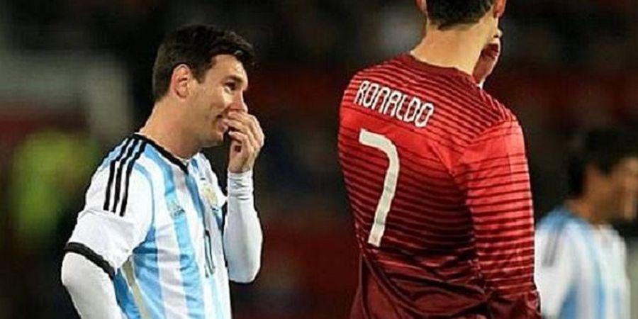 Cristiano Ronaldo atau Lionel Messi? Ini Jawaban Ronaldo dan Ronaldinho