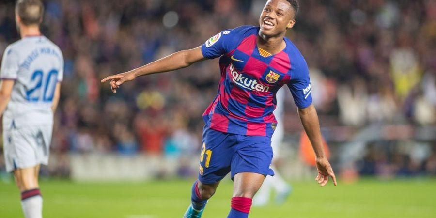 Belum Genap Setengah Tahun di Tim Utama, Bocah Ajaib Barcelona Panen Rekor