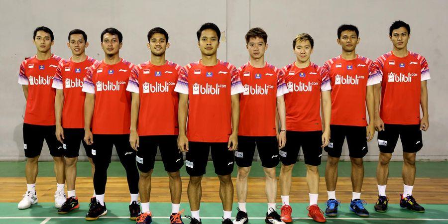 Tim Bulu Tangkis Indonesia Siap Berjuang pada Kejuaraan Beregu Asia 2020