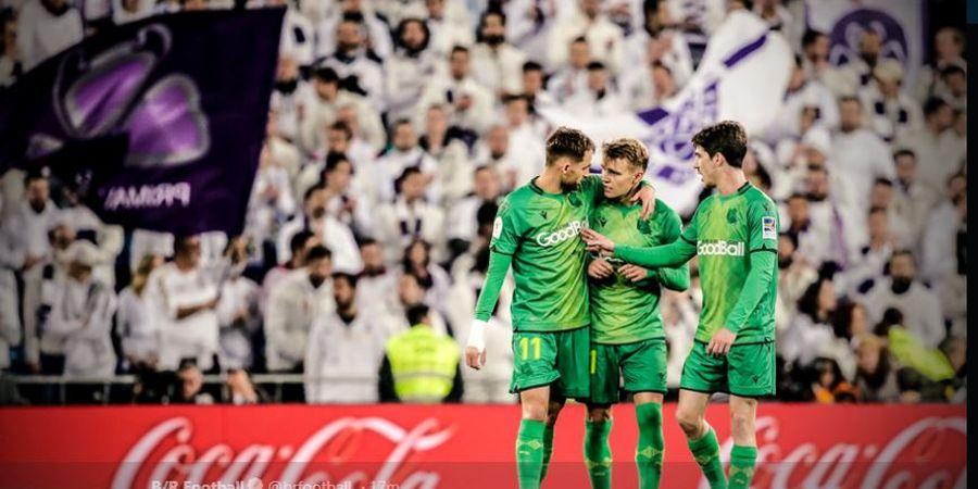 Hasil Copa del Rey - Banjir VAR, Real Madrid Gugur Dipermalukan Sociedad