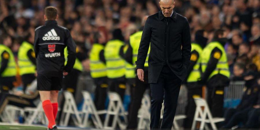 Cuma Tengok Rumah, Zinedine Zidane Sampai Langgar Aturan Lockdown