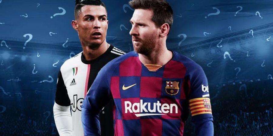 Tak Seperti Ronaldo, Messi Dianggap Tidak Bakal Sukses di Inggris