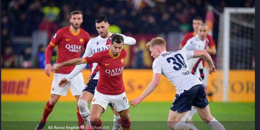 Hasil Liga Italia - Dihajar Bologna, AS Roma Masih Ompong di Kandang