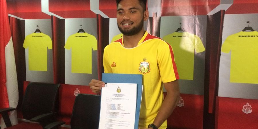 Saddil Ramdani Bicara Jadi Anggota Polisi Usai Gabung Bhayangkara FC
