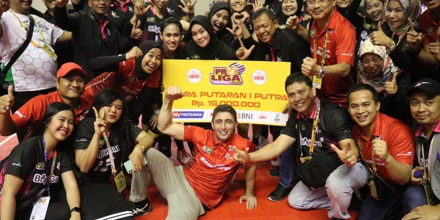 Hasil Proliga 2020 - Jakarta Pertamina Putri Juarai Putaran Pertama