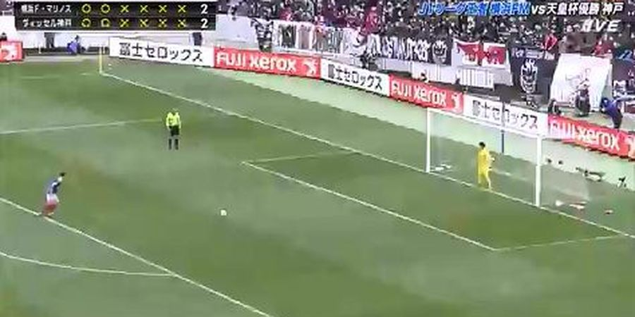 VIDEO - 9 Kali Penalti Gagal Beruntun di Final Piala Super Jepang