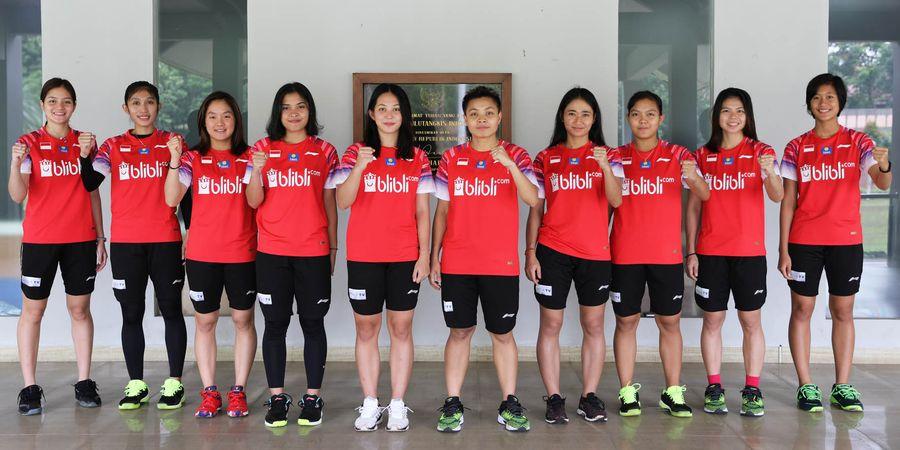 Kejuaraan Beregu Asia 2020 - Ini Susunan Tim Bulu Tangkis Putri Indonesia vs Thailand
