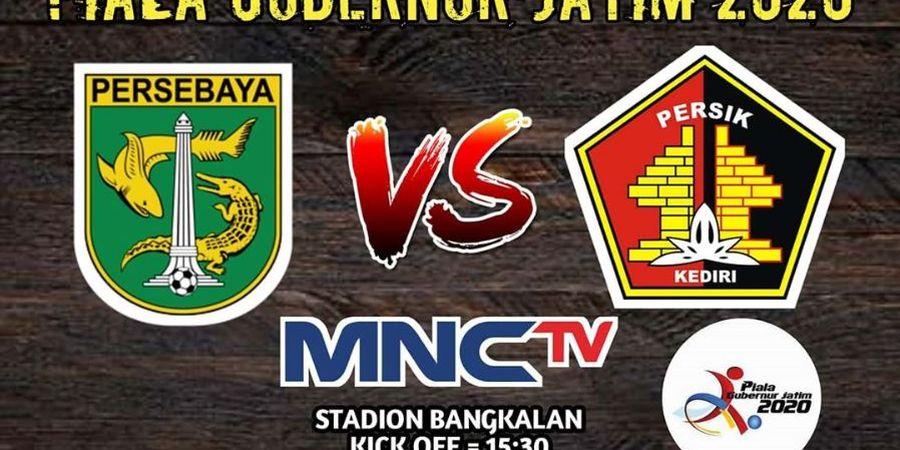 Link Live Streaming Persebaya Vs Persik, Laga Perdana Piala Gubernur Jatim 2020