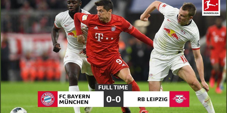 Highlight Bayern Muenchen vs RB Leipzig - Dua Tim Terkuat Sama Kuat