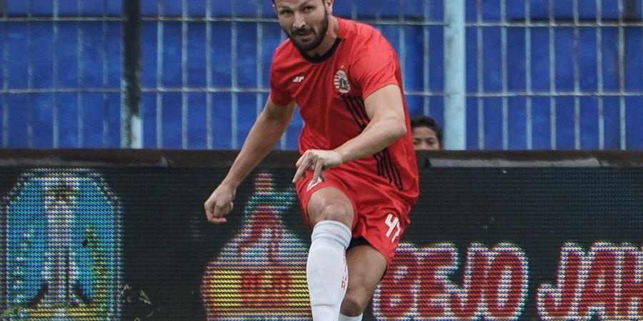 Marco Motta Berharap Persija Terus Meraih Kemenangan dalam Setiap Laga