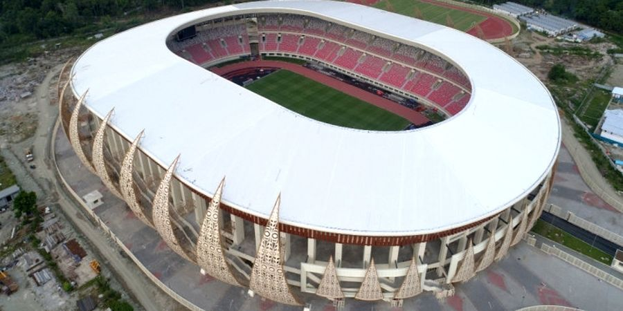 Stadion Papua Bangkit Masuk Nominasi Stadion Terbaik di Dunia