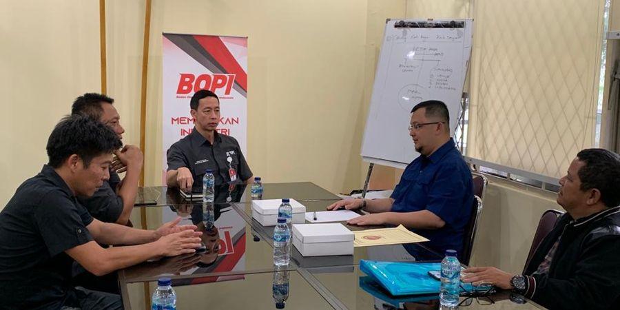 Datangi BOPI, Sriwijaya FC Adukan Tunggakan PT LIB Senilai Rp 3,4 Miliar