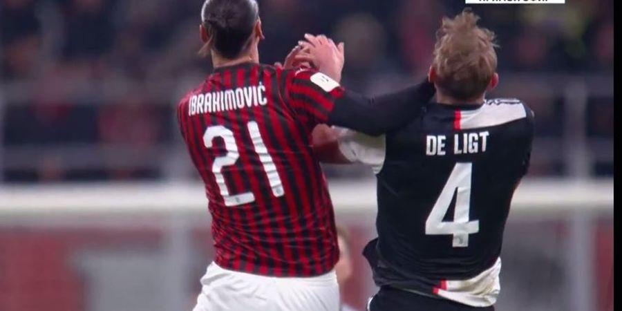 Hujan Pelanggaran Saat Juventus Selamat dari Kekalahan