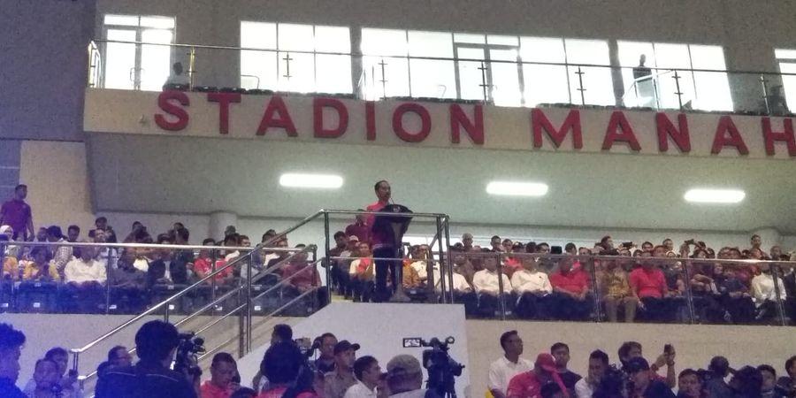 Fabiano Beltrame Bandingan Stadion Manahan dengan Stadion di Eropa Karena Hal Ini