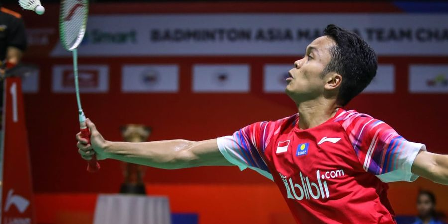 Kejuaraan Beregu Asia 2020 - Cara Anthony Sinisuka Ginting Redam Lee Zii Jia