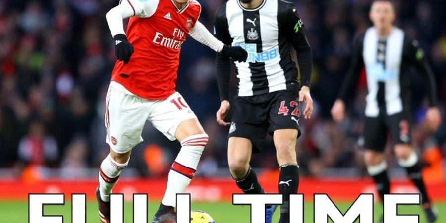 Hasil Liga Inggris - Kesulitan di Awal, Arsenal Banjir Gol di Babak Kedua