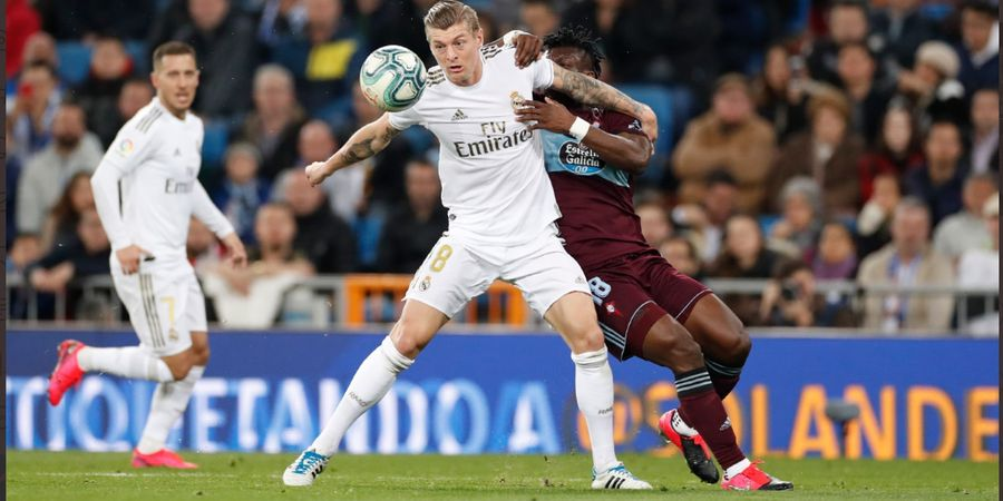 Hasil Liga Spanyol - Kecolongan 2 Umpan Terobosan, Real Madrid Diganjal Celta Vigo