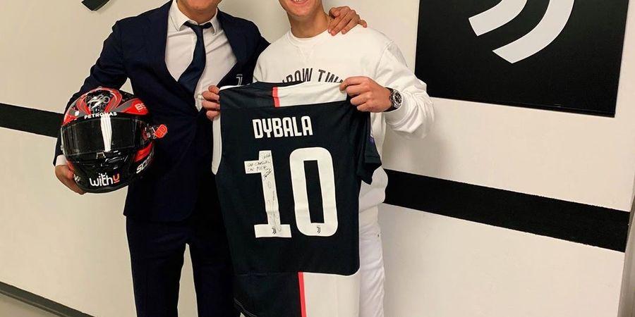 Ikuti Jejak Marc Marquez, Fabio Quartararo Bertemu Paulo Dybala