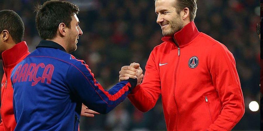 Meski Sama-sama Pernah Membela Manchester United, David Beckham Lebih Pilih Messi Ketimbang Ronaldo