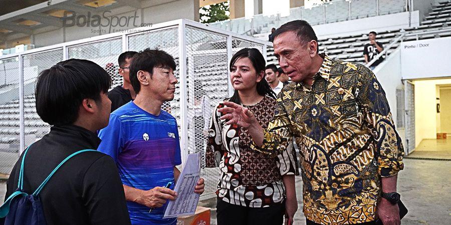 Tanggapan Ketum PSSI Soal Beratnya Porsi Latihan Timnas Indonesia di Era Shin Tae-yong