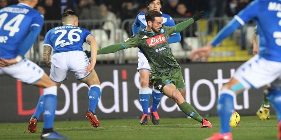 Hasil Liga Italia - Gelandang Rp 2,6 Triliun Jadi Pahlawan Kemenangan Napoli Sebelum Bertemu Barcelona