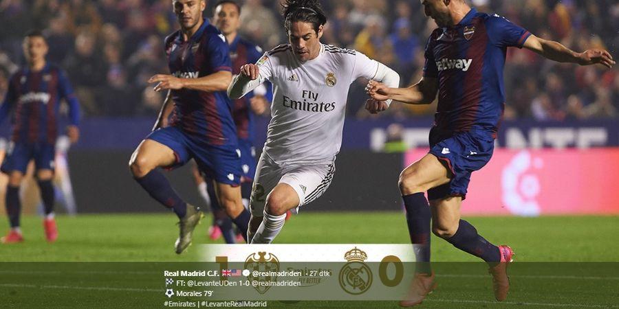 Roboh di Kandang Levante, Real Madrid Terpaksa Pulang Naik Bus