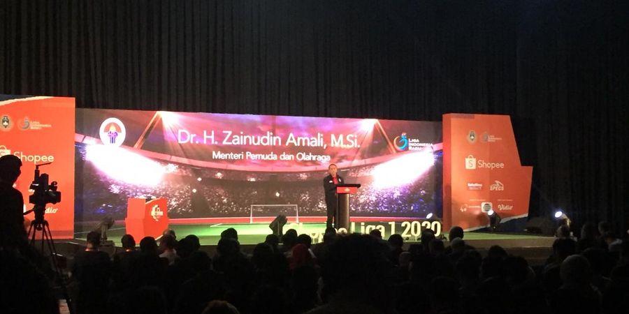 Menpora Puji PSSI Soal Kick-off Liga 1 2020 yang Tepat Waktu