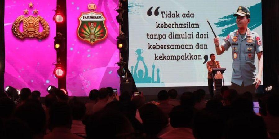 Jelang Liga 1 2020, Bhayangkara FC Dapat Pesan Tegas dari Kapolri