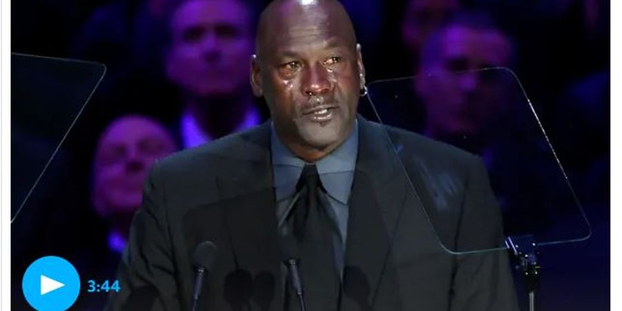 Air Mata Michael Jordan untuk Mendiang 'Sang Adik' Kobe Bryant