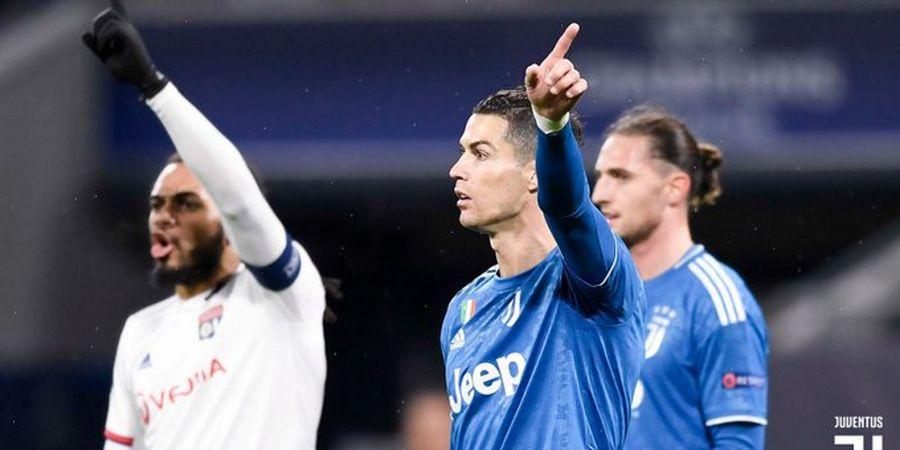 Hasil Liga Champions - Cristiano Ronaldo Terbaik dari 7 Top Scorer, Juventus Keok di Lyon