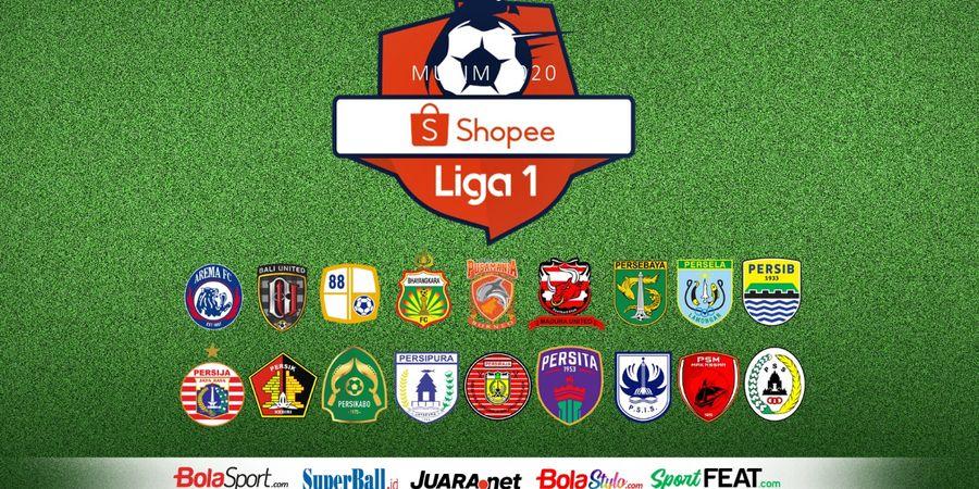 Hasil dan Klasemen Sementara Liga 1 2020 - Persib Bandung Melesat
