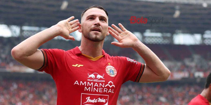 Pada Liga 1 2019, Striker Persija Marko Simic Tak Bisa Bobol 3 Tim ini