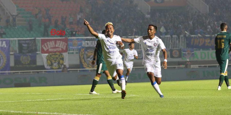 Shopee Liga 1 2020 - Arema FC Ungguli Tuan Rumah PS Tira Persikabo pada Babak Pertama