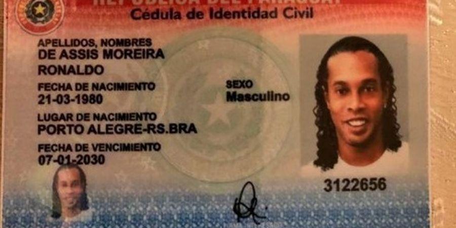 Ronaldinho Diperiksa Polisi, Diduga Punya Paspor Paraguay Palsu