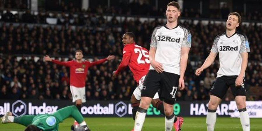 Hasil Piala FA - Ighalo Cetak Gol Sepakan Geledek, Wayne Rooney dkk Hancur, Man United ke 8 Besar