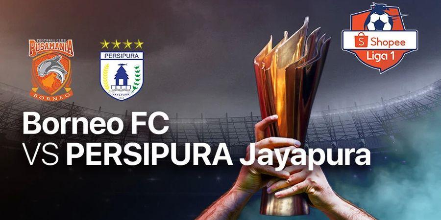 Link Streaming Borneo FC Vs Persipura Jayapura, Pekan Kedua Liga 1 2020