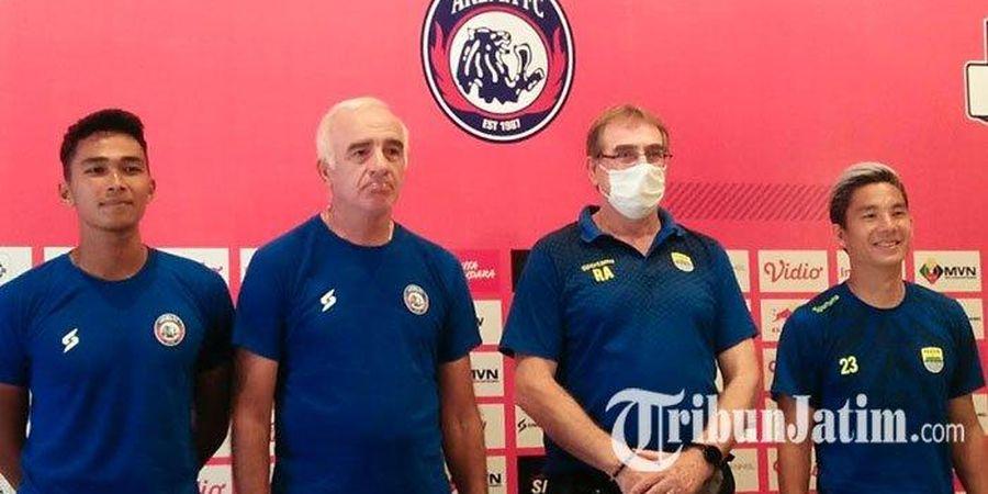 Kalah dari Persib, Pelatih Arema FC Minta Maaf pada Aremania