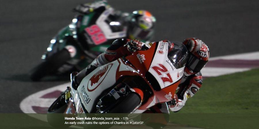 Hasil Balapan Membaik, Pebalap Indonesia Torehkan Peningkatan di Moto2 Spanyol 2020